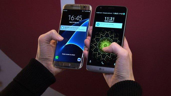 LG G5 VS S7