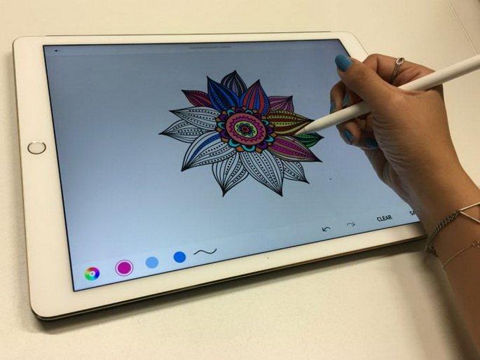 Специальные возможности iPad Pro