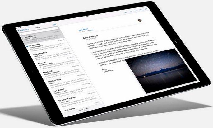 Возможности Apple iPad Pro