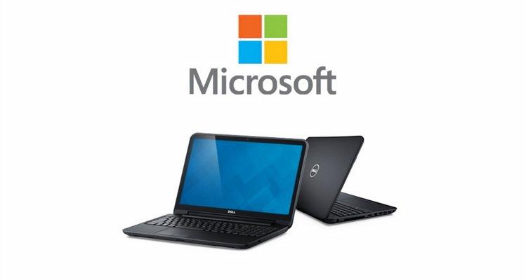 Microsoft подарит Dell Inspiration 15