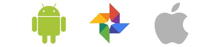 Настройка Google фото на Android и iOS