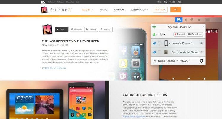 Reflecor 2 обзор для iOS