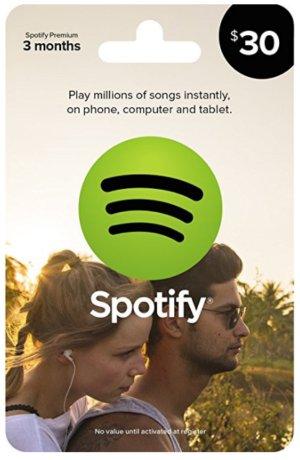 покупка Spotify Premium на amazon и ebay