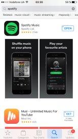 как скачать Spotify с App Store US