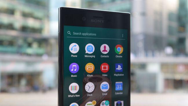 Sony Xperia XZ Android 7 интерфейс