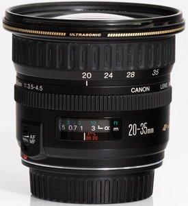 Бюджетный широкоугольник Canon EF 20-35 mm f/3.5-4.5 USM