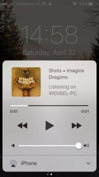 Дистанционное управление музыкой Spotify