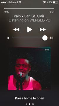 Дистанционное управление треками Spotify
