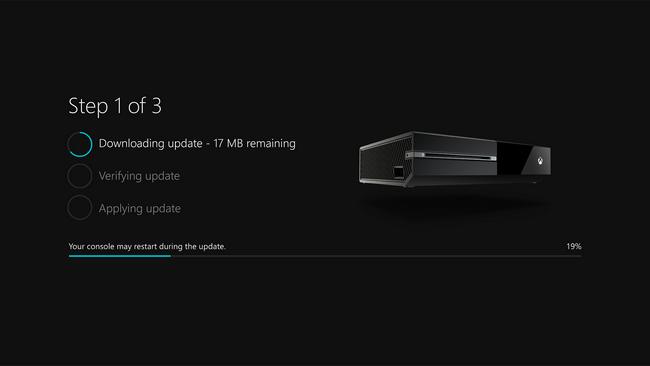 Обновления Xbox One