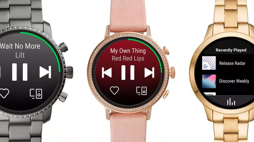 Spotify для Wear OS