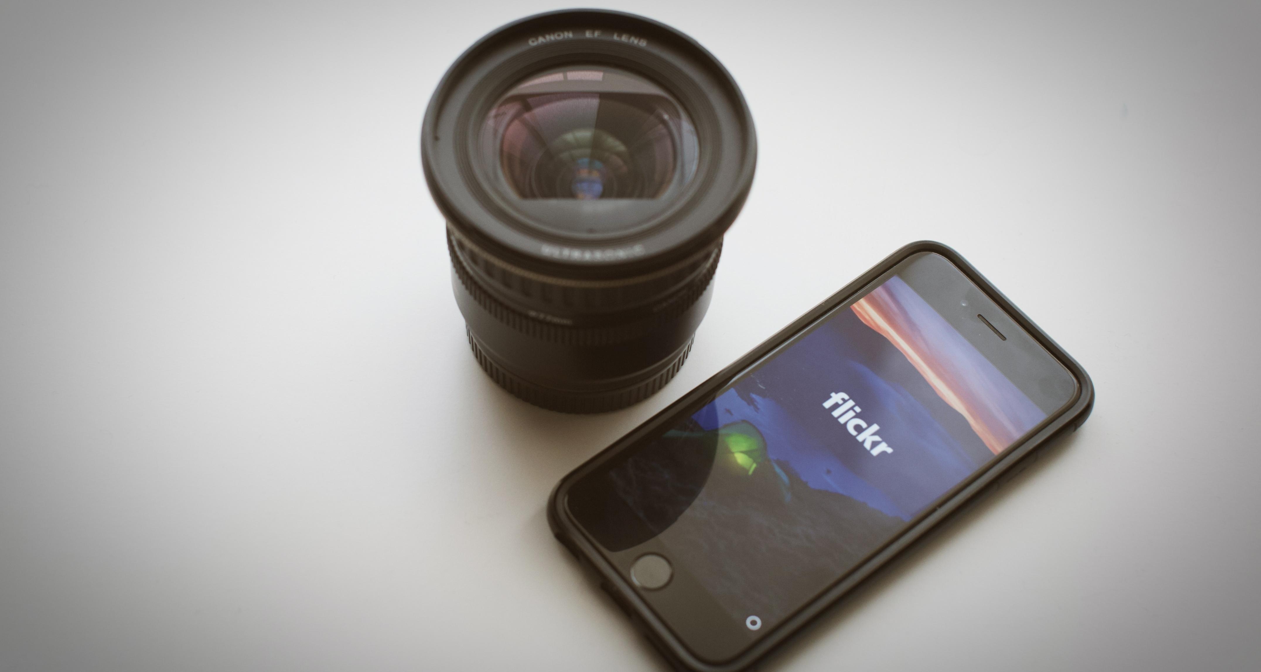 облачное хранение фотографий flickr