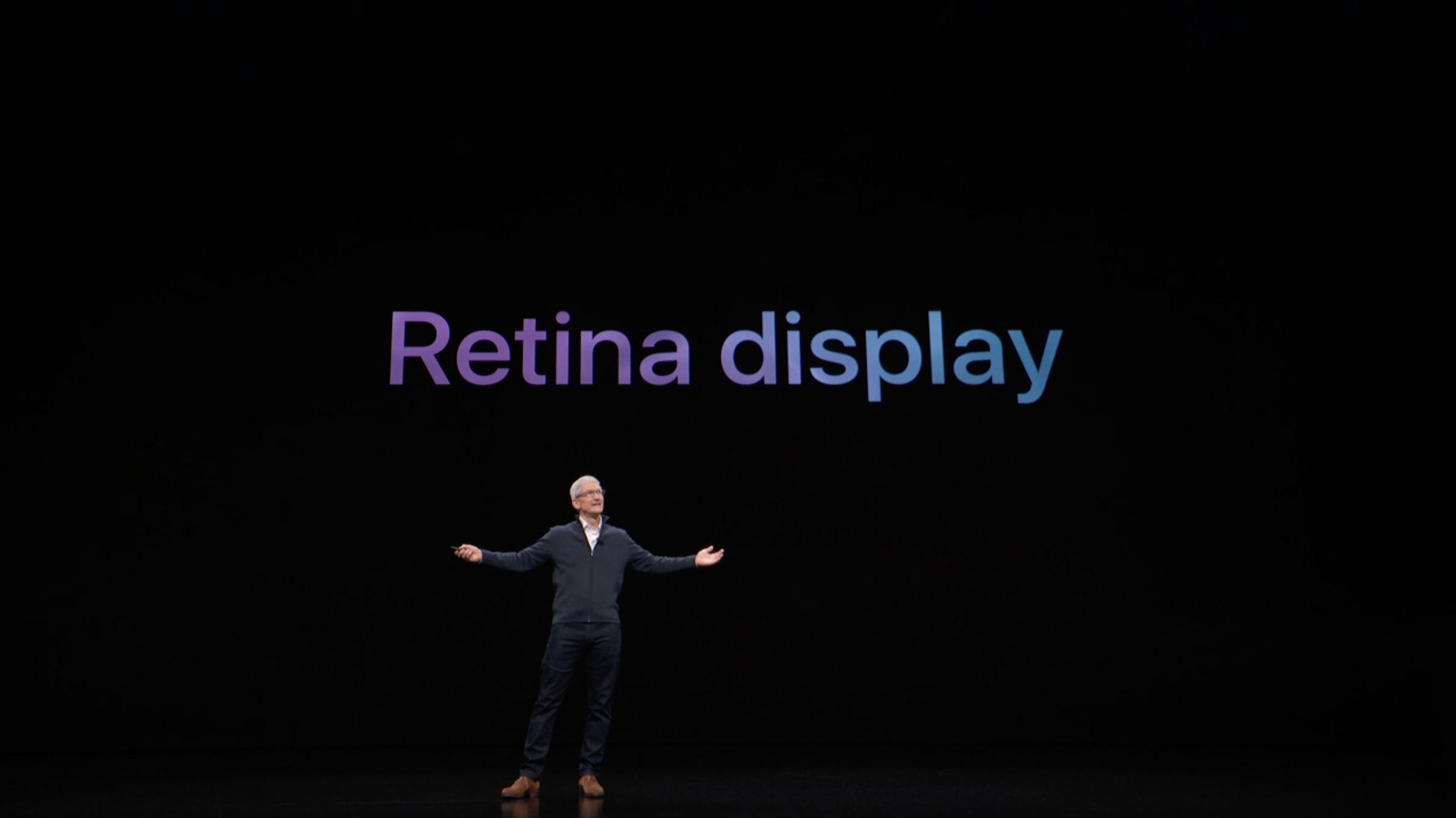новый Air получил Retina дисплей