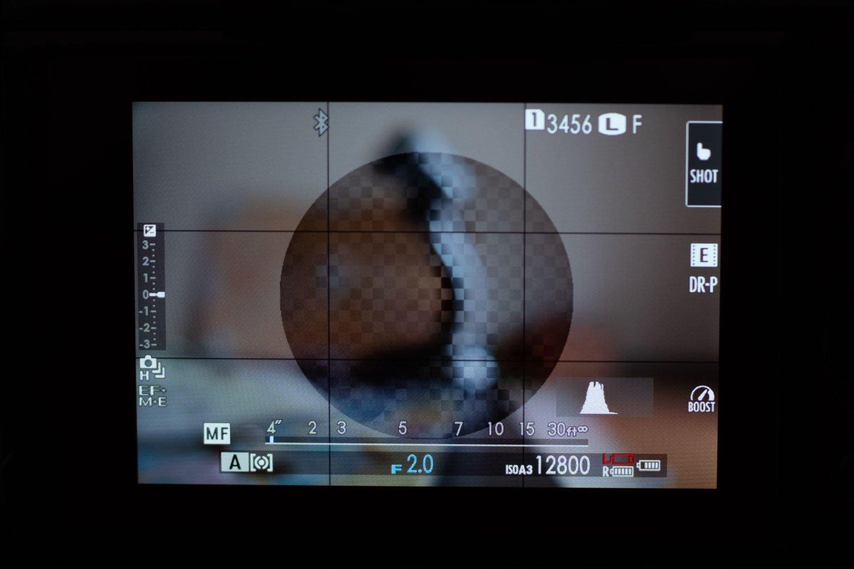 ручной фокус Focus Prism на Fujifilm XT-3