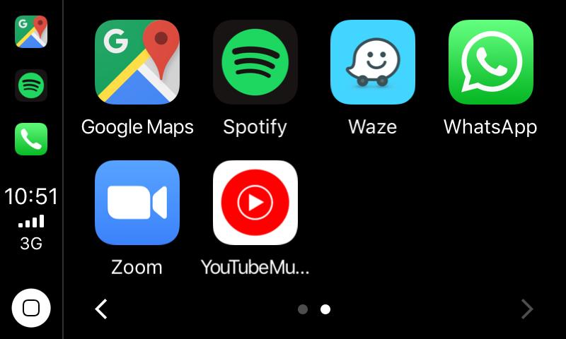 собственный интерфейс YouTube music для карплей и андроид авто