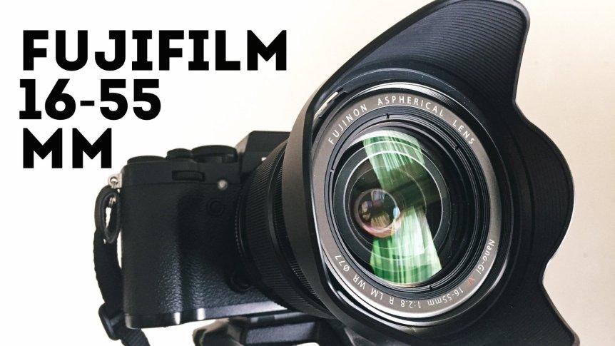 обзор объектива Fujifilm 16-55mm