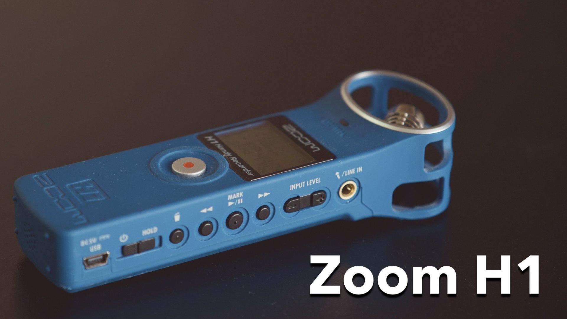 обзор аудио рекордера zoom H1