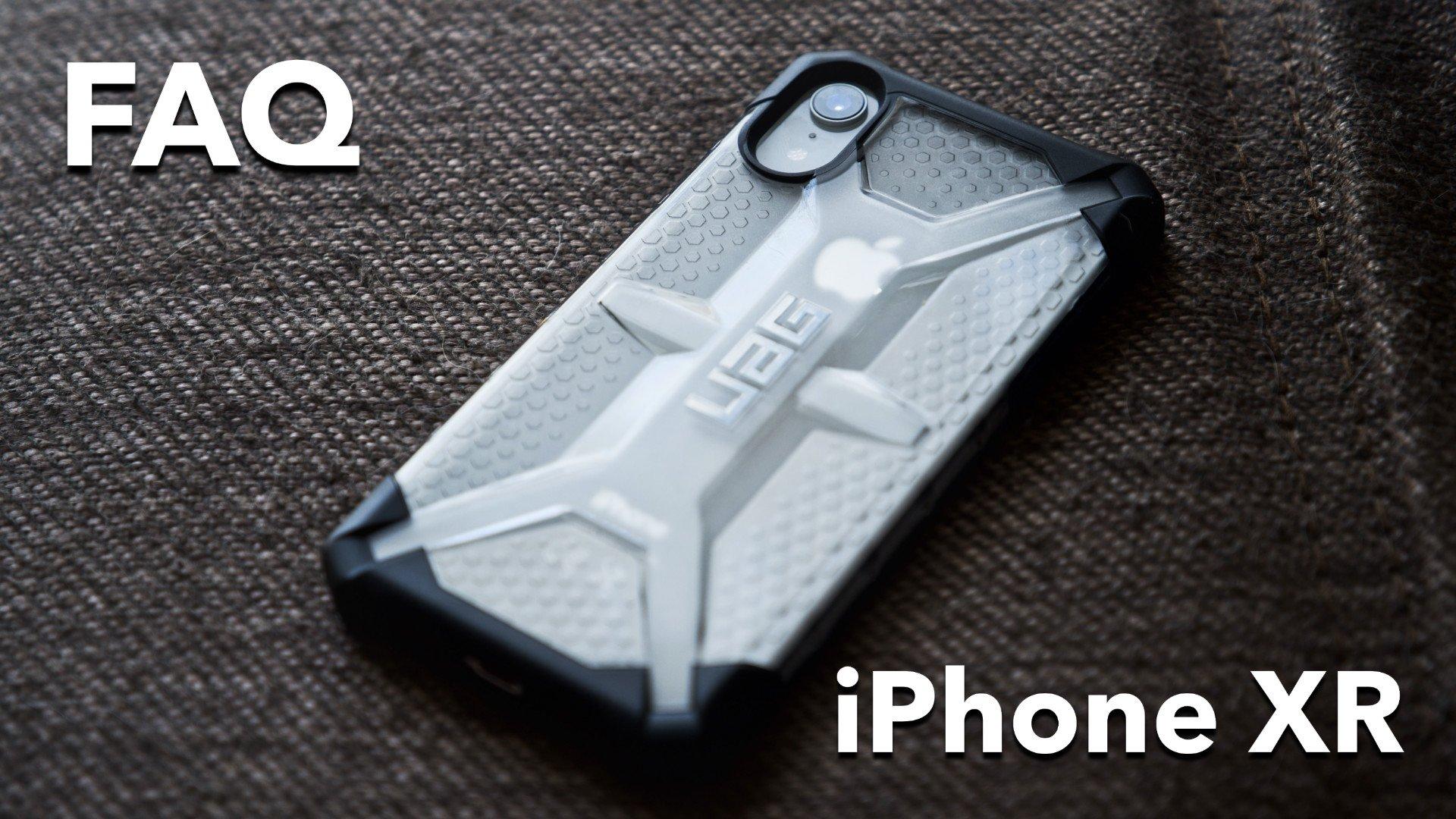 ответы на вопросы про настройку и использование iPhone XR
